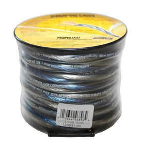 Monster Car Audio XLN 12 Gauge 18ft Speaker Wire (Blue & Silver)