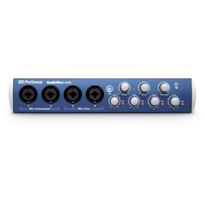 PreSonus AudioBox 44VSL Advanced 4x4 USB 2.0 Recording System - PreSonus - AUDIOBOX-44VSL