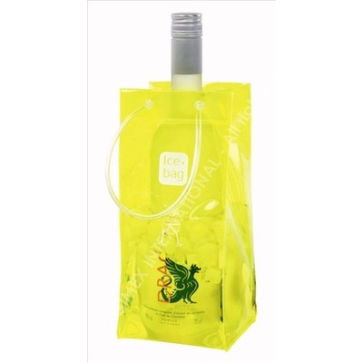 Ice bag Yellow - the modern alternative to an ice buket