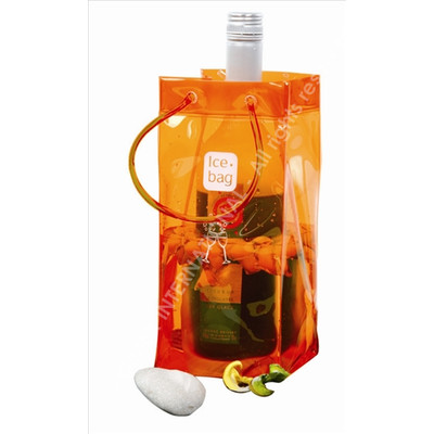 Ice Bag Orange - the modern alternative to an ice buket