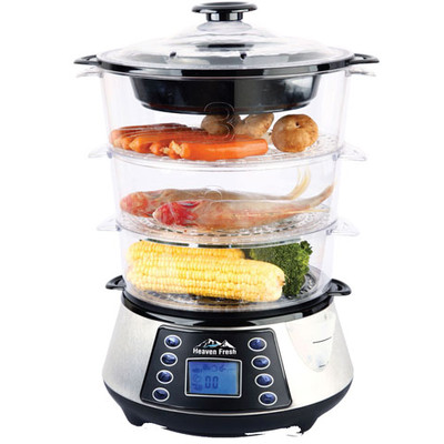 NaturoPure Digital Food Steamer HF8333