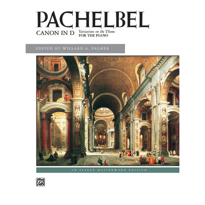 SheetMusic Canon in D - Pachelbel ed Palmer (PS) - Alfred Music - 00-2541