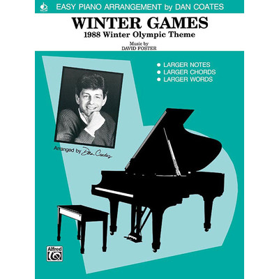 SheetMusic Winter Games 1988 (Foster, David arr Coates)(EP)