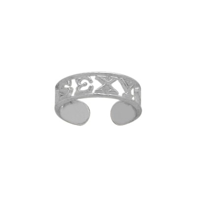Genuine Sterling Silver SEXY Toe Ring