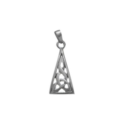 Traditional Celtic Sterling Silver Pendant with chain