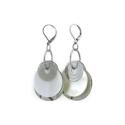 Ladies Stainless Steel Drop Style Earrings