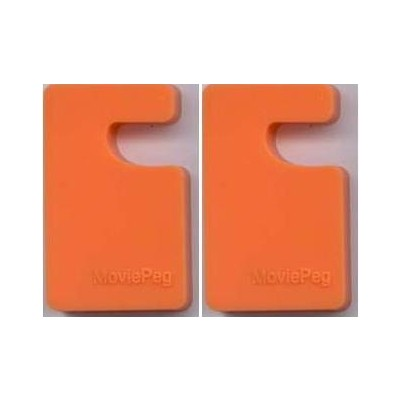 4 Simple Stand for Smartphones, iPhone, iPad & Tablet  - Orange Color