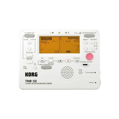 Korg Tuner Metronome Recorder - Pearl White - Korg - TMR50-PW