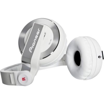 Pioneer HDJ-500 DJ Headphones - White - Pioneer - HDJ-500-W (884938130707)