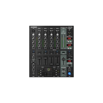 Behringer Pro Mixer DJX750 5 Channel DJ Mixer - Behringer - DJX750
