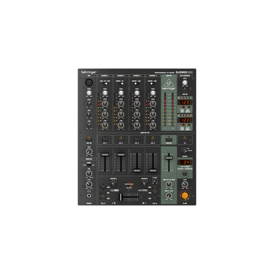Behringer Pro Mixer DJX900USB 5 Channel DJ Mixer - Behringer - DJX900USB