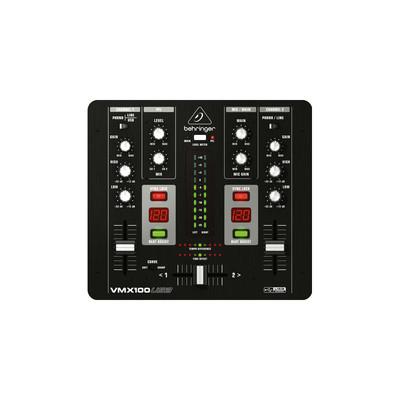 Behringer Pro Mixer VMC100USB Professional 2 Channel DJ Mixer - Behringer - VMX100USB