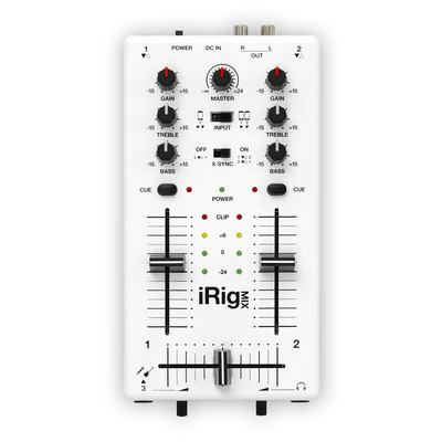 IK Multimedia iRig MIX Mobile Mixer - IK Multimedia - IP-IRIG-MIX-IN