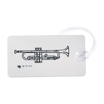 Plastic ID Tag - Trumpet - Aim - 1709