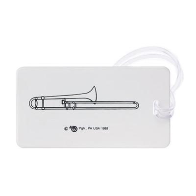 Plastic ID Tag - Trombone - Aim - 1710