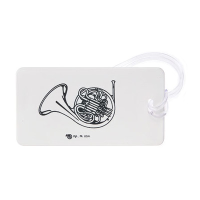Plastic ID Tag - French Horn - Aim - 1711