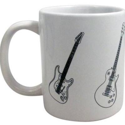 Mug Aim Guitars White - Aim - 1940