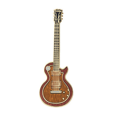 Guitar Pin - Single-Cut Electric Guitar, Sunburst - Aim - 1D