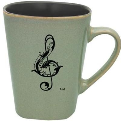 Mug Aim Square Bottom G-Clef Granite - Aim - 56156