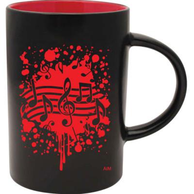 Mug Aim Cafe Tow-Tone Note Burst Red - Aim - 56158