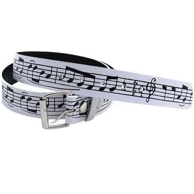 White Staff Belt - Large - Aim - 6133L