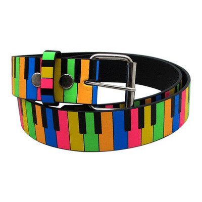 Rainbow Keyboard Belt - XL - Aim - 6147XL