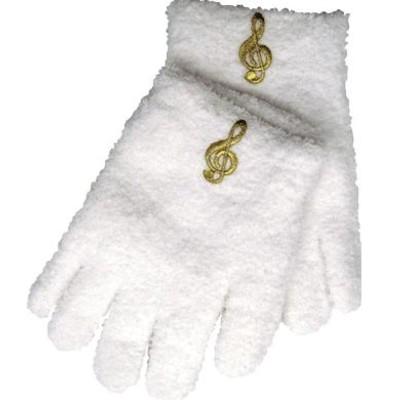 Gloves Aim Fuzzy G-Clef White - Aim - 9110