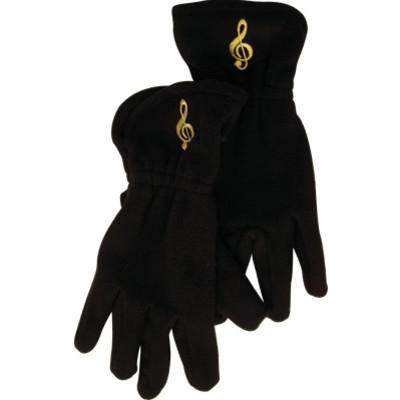 Gloves Aim Fleece G-Clef Black - Medium/Large - Aim - 9915ML