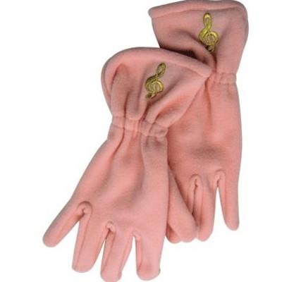 Gloves Aim Fleece G-Clef Pink - Medium/Large - Aim - 9917ML