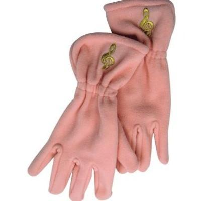 Gloves Aim Fleece G-Clef Pink - Small/Medium - Aim - 9917SM