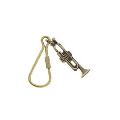 Keychain Aim Trumpet Polish Brass - Aim - K62A