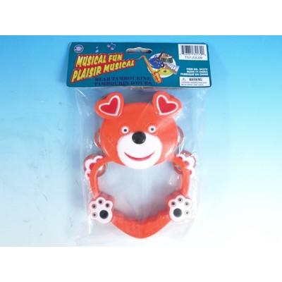 "Tambourine Toy Galaxy 7.5"" Bear - Toy Galaxy - 34172"