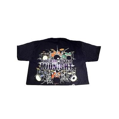 Rockin After Midnight with Drums T-Shirt - XL - Aim - 10623XL