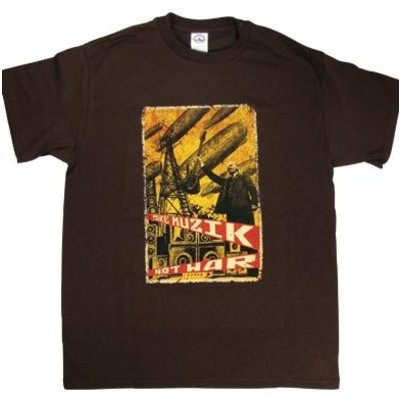 Musik Not War T-Shirt - Large - Aim - 45501L