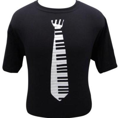 Keyboard Tie T-Shirt - XL - Aim - 45583XL