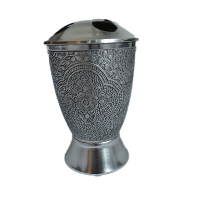 Canterbury Antique Pewter Tooth Brush Holder