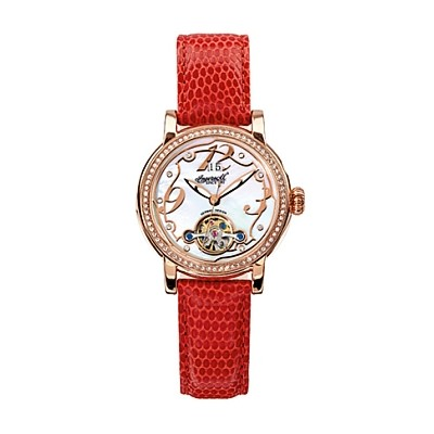 Ladies Red Concord Ingersoll Watch