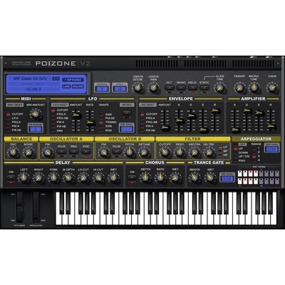 Image Line PoiZone - Subtractive Software Synthesizer - Digital Download - Image Line - 11-31115