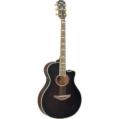 Yamaha APX1000 Thin-Line Acoustic Electric Guitar - Mocha Black - Yamaha - APX1000 MBL