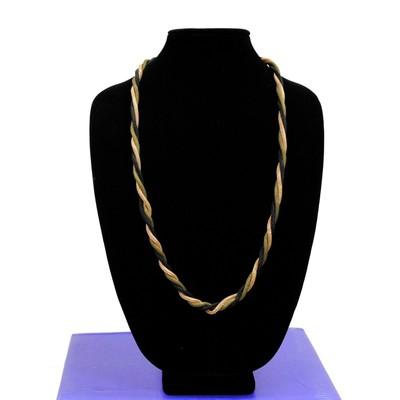 Alley Style Designer Series 3-in-1 Handmade Metallic Braided Necklace
