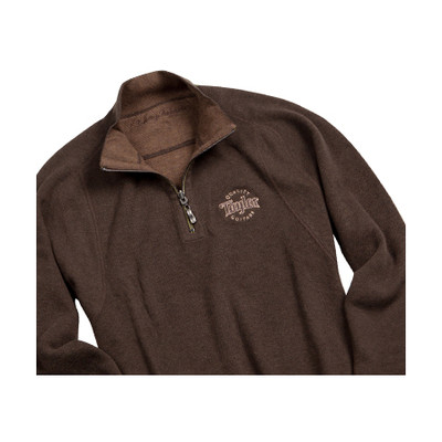 Taylor Half-Zip Pullover - Brown, 2XL - Taylor Guitars - Taylorware, Home and Gifts - 28008