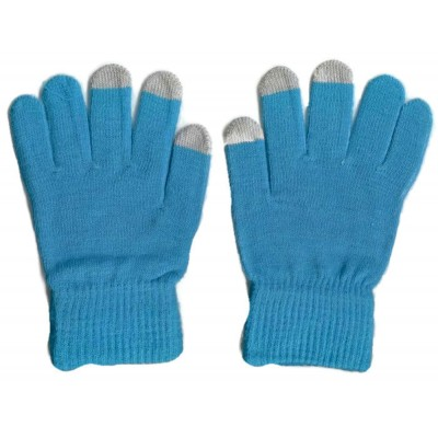 2 X Touchscreen Gloves - Blue Color