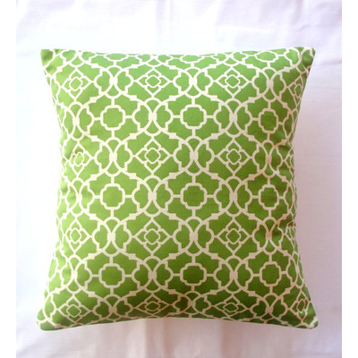 Waverly Pillow Cover - Green