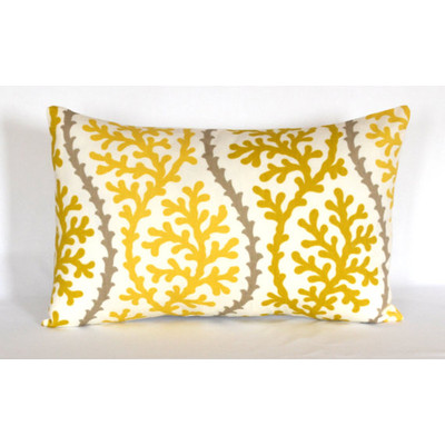 Citrine Lumbar Pillow Cover
