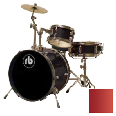 Drum Kit RB Drums RB-JR3-MWR 3 Piece Wine Red - RB Drums - RB-JR3-MWR