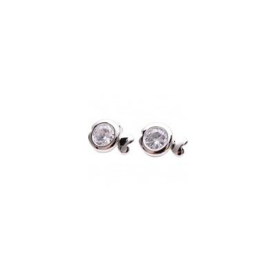 Sparkle Swim Silver Earrings