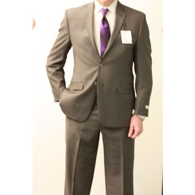Calvin Klein slim fit suit (grey nail head)