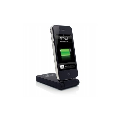 Lenmar Kickstand Battery 2.0 - External Battery and Desktop Stand for iPhone and iPod