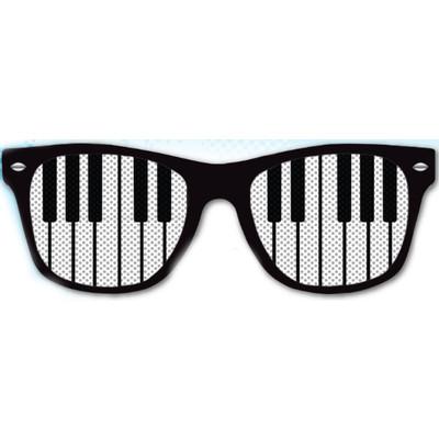 Glasses Aim Keyboard Lens in Black - Aim - 6815