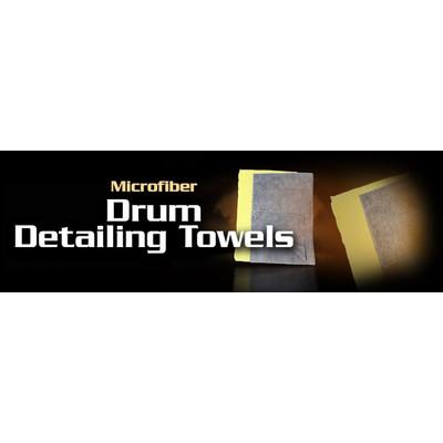 Cloth Edgeless Microfiber Drum Detailing Towels - 2 pack - Music Nomad - DRUM-DETAIL-TOWEL